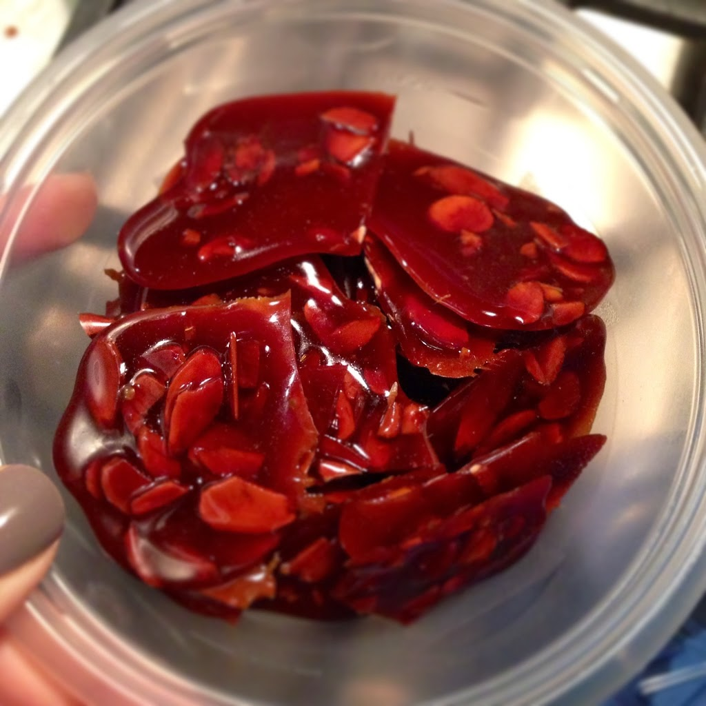 Ahu Eats: Sohan Asali - Persian Honey Saffron Brittle