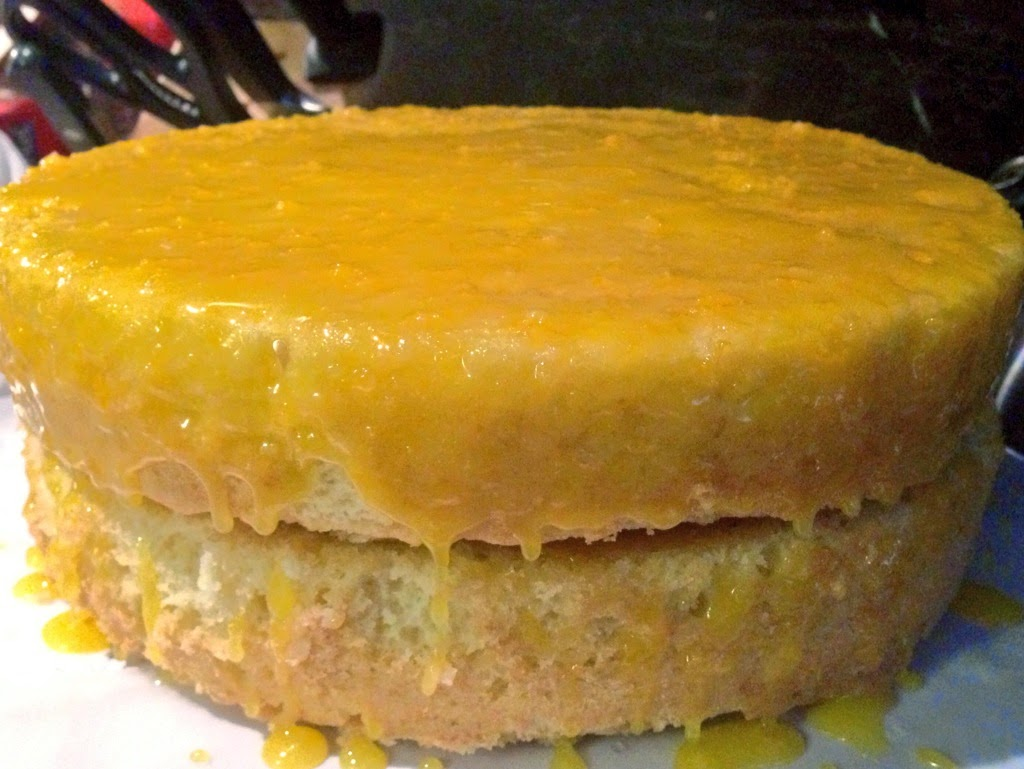 Lemon Curd Layer Cake.. & Scary Food Things – Ahu Eats