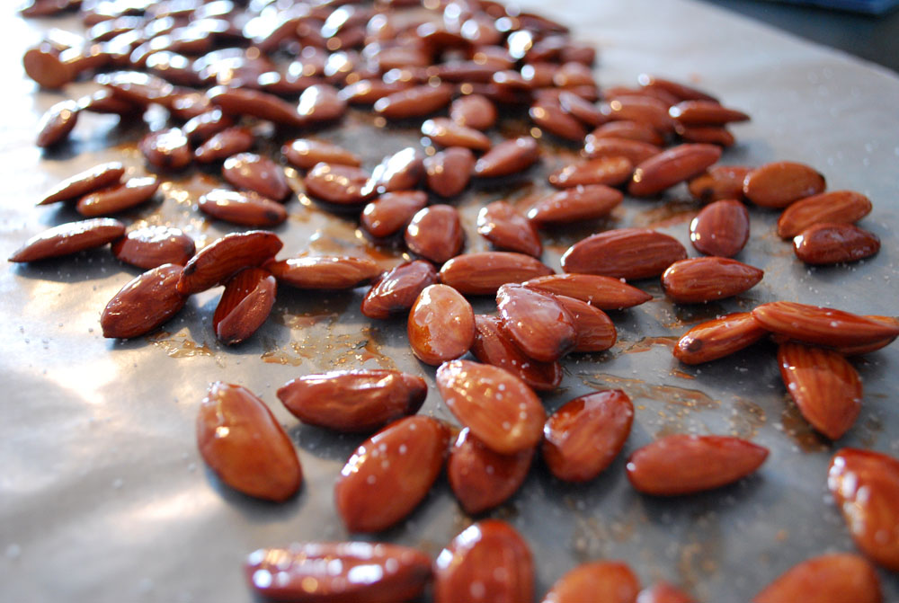 Badoom Limoo Torsh - Tangy Almonds Candied in Lime Juice