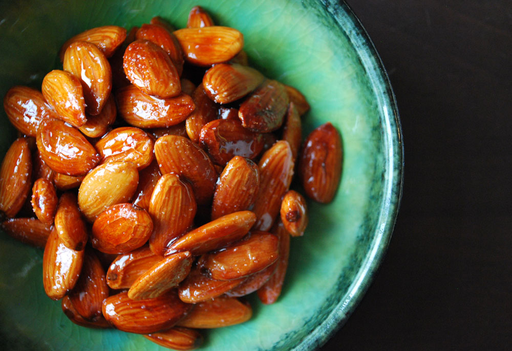 Tangy Lime Roasted Almonds