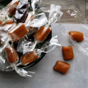 Honey Caramels - caramels made without corn syrup
