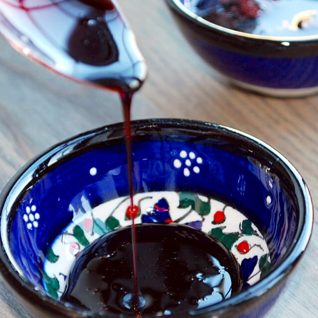 pomegranate molasses persian rob e anar a thick and rich syrup made ...